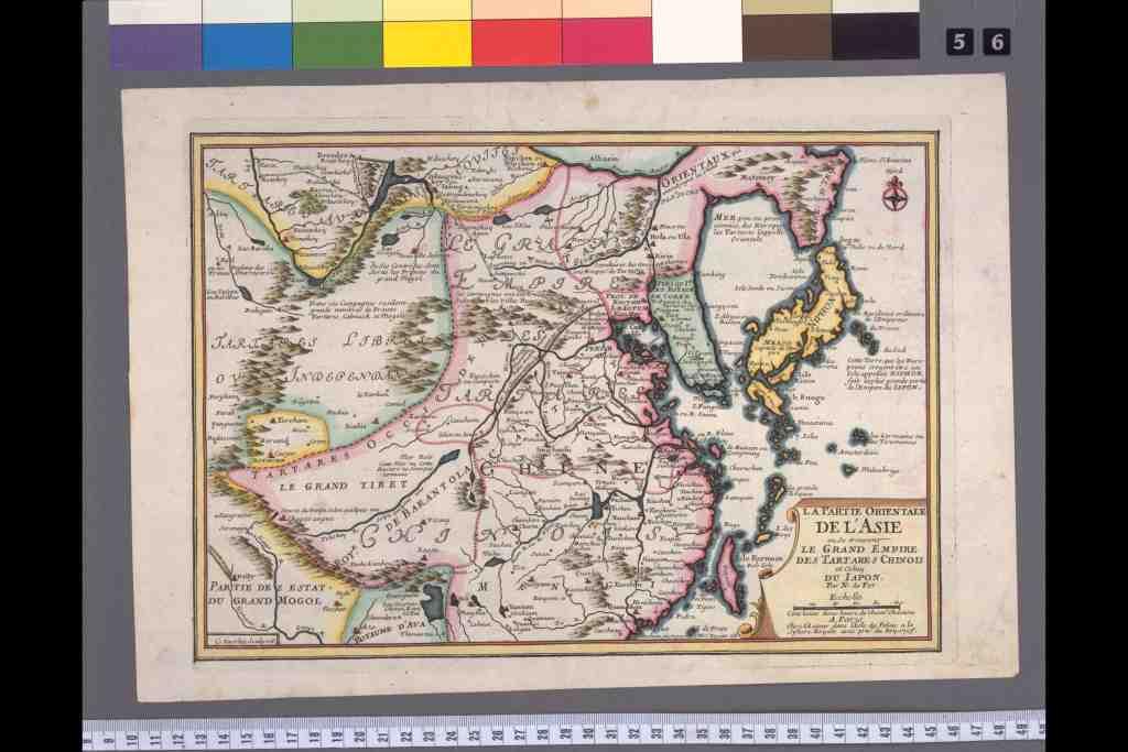 西洋古版日本地図一覧 - 1700年代